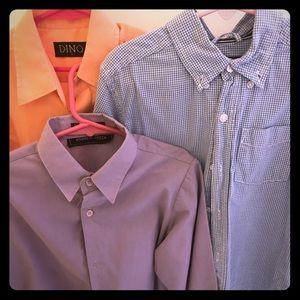 Size 6/6x collared button top shirt bundle